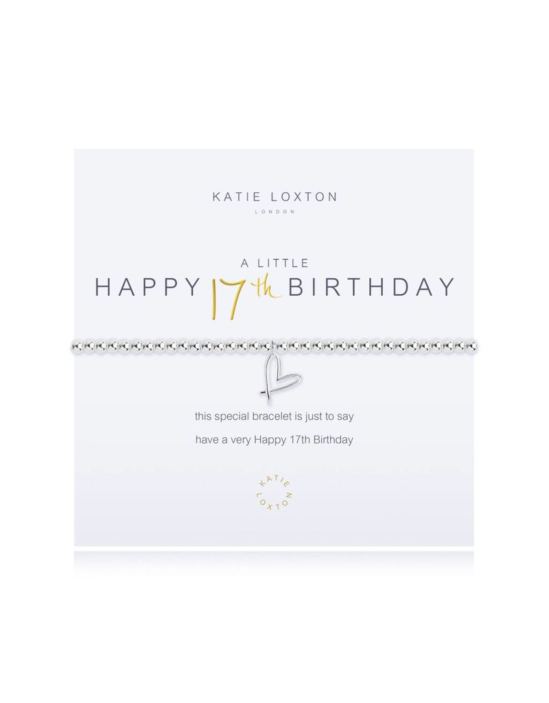 Katie Loxton a little HAPPY 17TH BIRTHDAY - bracelet