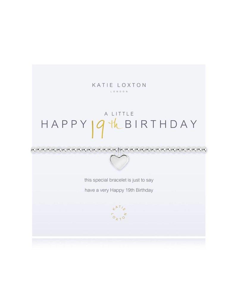 Katie Loxton a little - HAPPY 19TH BIRTHDAY - bracelet