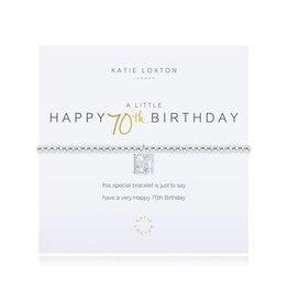 Katie Loxton a little - HAPPY 70TH BIRTHDAY - bracelet