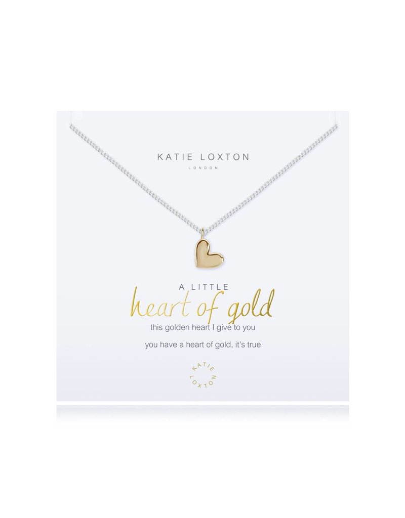 Katie Loxton a little - HEART OF GOLD - necklace