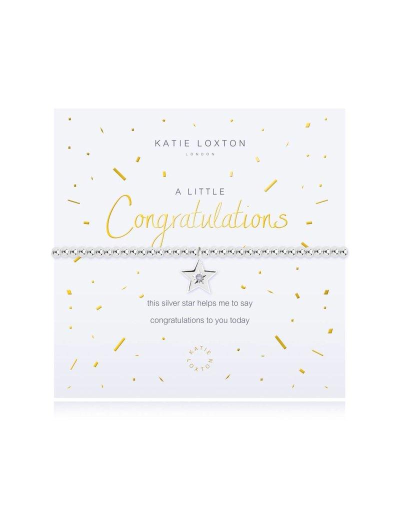 Katie Loxton a little - CONGRATULATIONS - bracelet