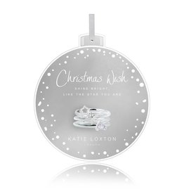 Katie Loxton Baubles Christmas Wish Rings