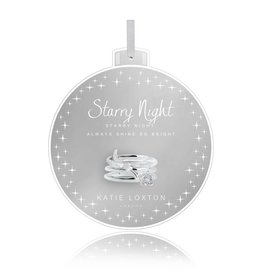 Katie Loxton Baubles Starry Night Rings