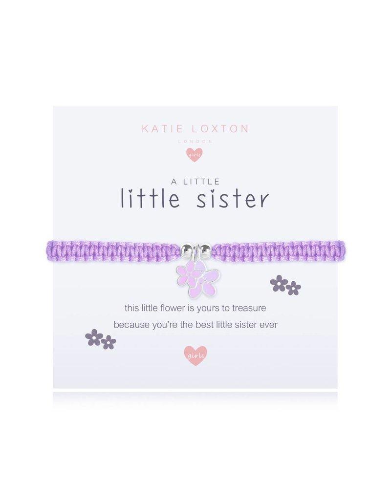 Katie Loxton a little LITTLE SISTER - children's bracelet