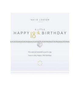 Katie Loxton a little HAPPY 18TH BIRTHDAY - bracelet