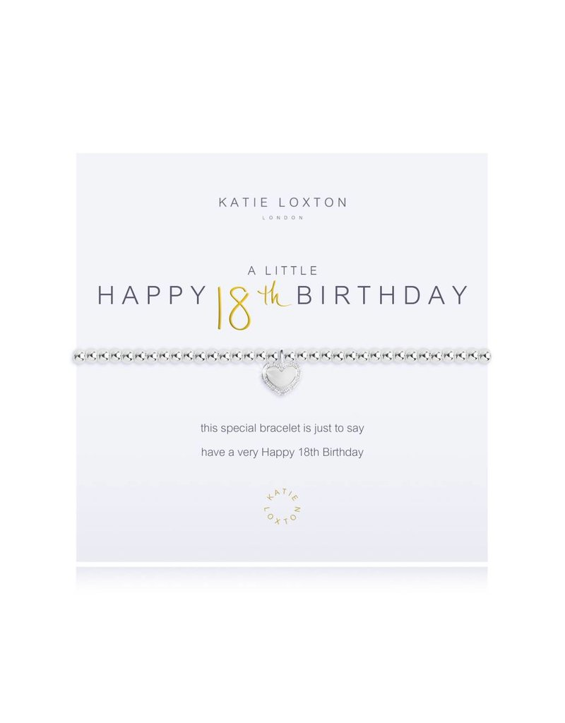 Katie Loxton a little HAPPY 18TH BIRTHDAY - bracelet