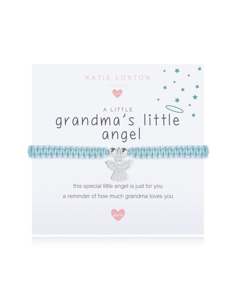 Katie Loxton a little GRANDMA'S LITTLE ANGEL - children bracelet