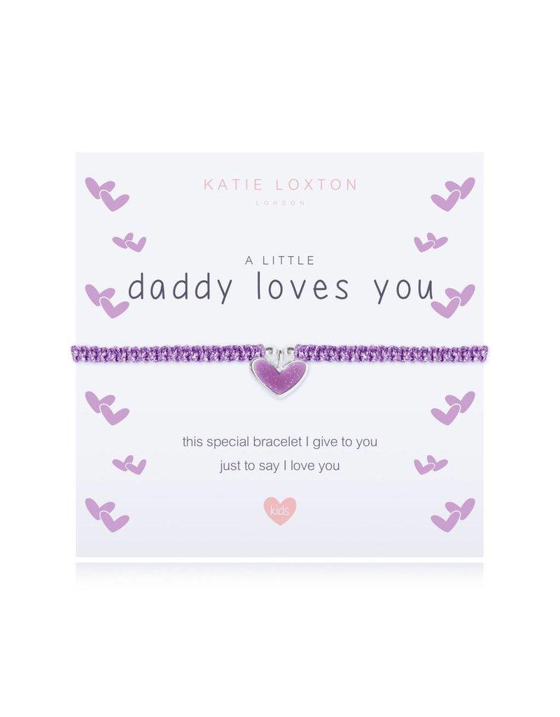 Katie Loxton a little DADDY LOVES YOU - bracelet