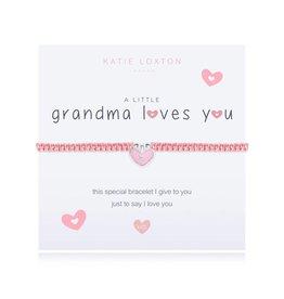 Katie Loxton a little GRANDMA LOVES YOU - bracelet