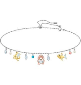 Swarovski Ocean Choker, Multi-Colored, Mixed Plating