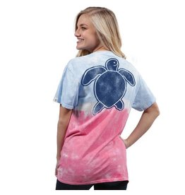Simply Southern Save The Turtles Washed Logo - Ice Pop