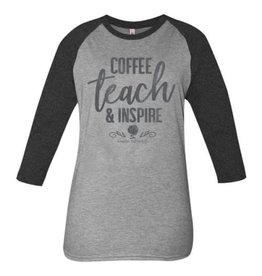 Simply Southern Teach and Inspire 3/4 Sleeve Shirt