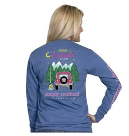 Simply Southern Long Sleeve, Preppy Think, Moonrise