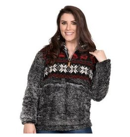 Simply Southern Sherpa Pull Over, Deer