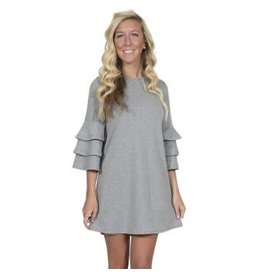 Simply Southern Winston Long Sleeve, Heather Grey