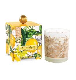 Michel Design Works Lemon Basil 14 oz. Soy Wax Candle