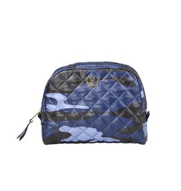 Oliver Thomas KST Cosmetic Case Medium, Blue Camo