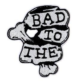 Oliver Thomas Bad to the Bone Badge, Black/White