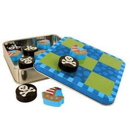 Stephen Joseph Magnetic Tic Tac Toe Pirate