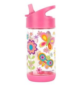 Stephen Joseph Flip Top Bottle Butterfly