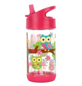 Stephen Joseph Flip Top Bottle Owl