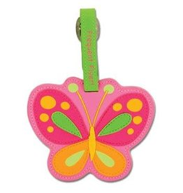 Stephen Joseph Luggage Tag  Butterfly