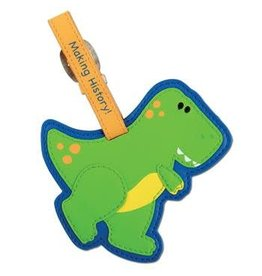 Stephen Joseph Luggage Tag Dino