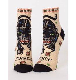 Blue Q Fierce Ankle Sock