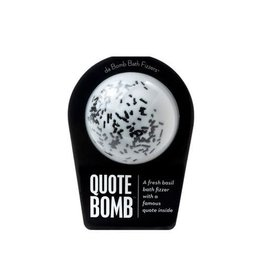 Da Bomb Bath Fizzers Quote Bomb