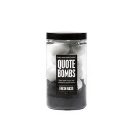 Da Bomb Bath Fizzers Quote Bombs Jar