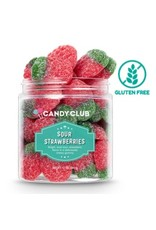Candy Club Sour Strawberries, Small