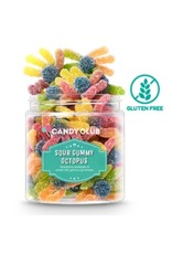 Candy Club Sour Gummy Octopus, Small