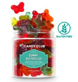 Candy Club Gummy Butterflies, Small