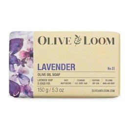 Olive and Loom Lavender Olive Oil Soap Bar
