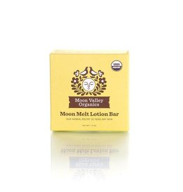 Moon Valley Organics Moon Melt Lotion Bar - Vanilla Lemon