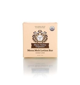 Moon Valley Organics Moon Melt Lotion Bar - Coconut Lemon