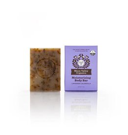 Moon Valley Organics Lavender Calendula Cleansing Body Bar