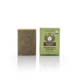 Moon Valley Organics Oatmeal Sage Cleansing Body Bar