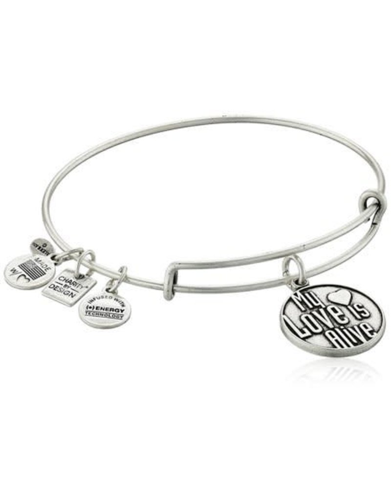 Alex and Ani Charity By Design, My Love Is Alive EWB, RS