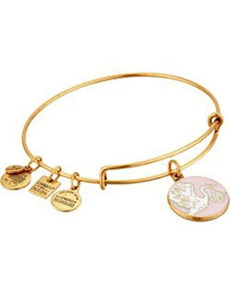 Alex and Ani **Charity By Design, Special Delivery Pink EWB, RG