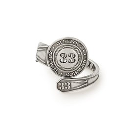 Alex and Ani Spoon Ring, Number Thirty-Three, Sterling Silver