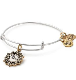 Alex and Ani Cancer EWB, Two Tone Bracelet RG/RS