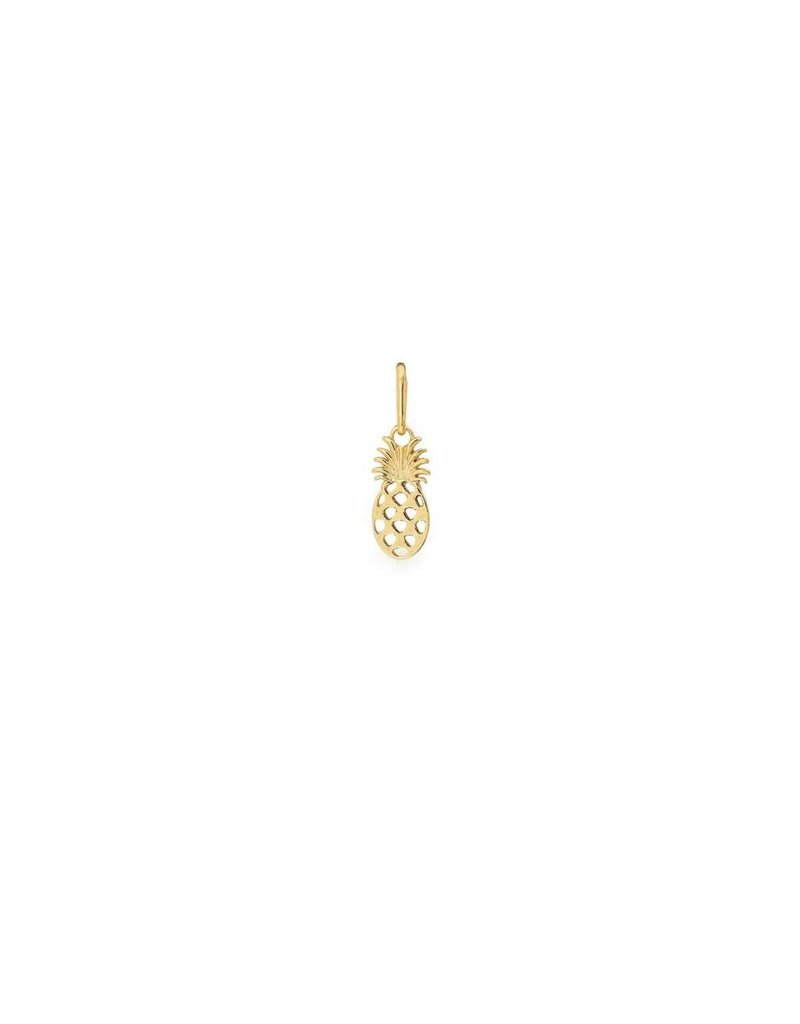 Alex and Ani Pineapple Charm 14kt Gold