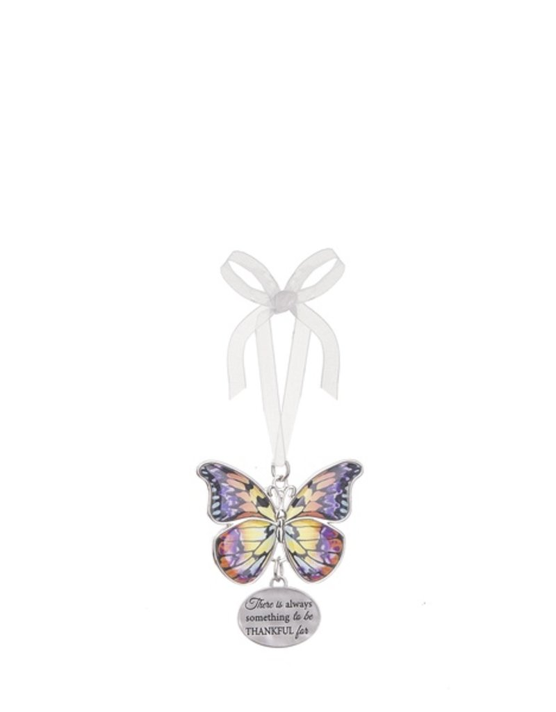 Ganz Always Something to be Thankful For Butterfly Ornament