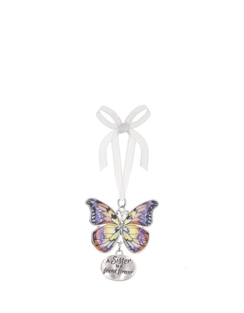 Ganz A Sister Butterfly Ornament