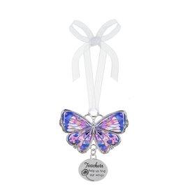 Ganz Teachers Help Us Butterfly Ornament