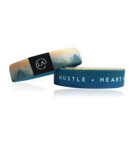 LA Clé Co. THE REMEMBER BAND ''Hustle + Heart Will Set You Apart''