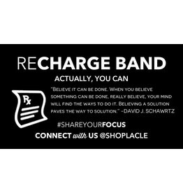 LA Clé Co. THE RECHARGE BAND ''Actually, you can.''