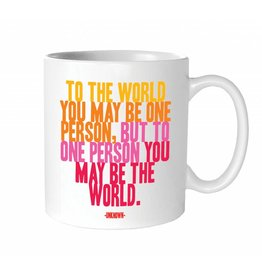 Quotable Cards To The World Mug