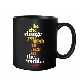Quotable Cards Mug - Be The Change